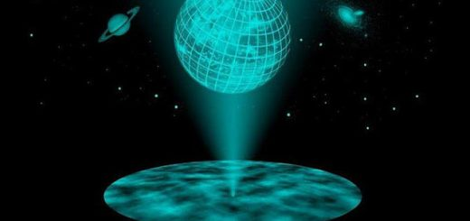 Hologram earth
