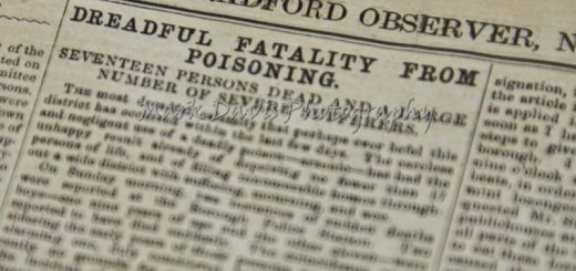 Bradford Sweets Poisoning